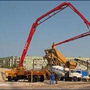 Услуги бетононасоса по Алматы и Алматинской области фото