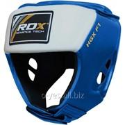 Боксерский шлем для соревнований RDX Blue фото