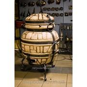 Тандыр «Бочка» (Усиленная кузнечная ковка) Тн3 фото