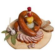 Колбаса полукопченая Чесночная плюс, второй сорт фото