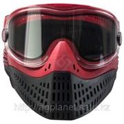 Маска пейнтбольная Empire E-Flex goggle красная фото