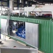 Установки газовые когенерационные контейнерное исполнение , эл. мощностью до 2.000 кВт фото