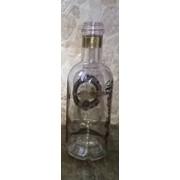 Гравировка на бутылке фото