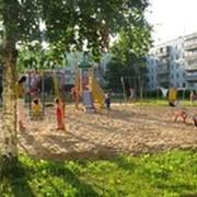 Установка детских игровых комплексов и городков фото