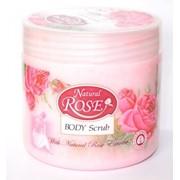 Скраб для тела Natural Rose 350мл фото