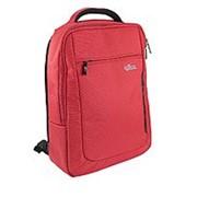 Рюкзак бордовый 40х30х8cm фото