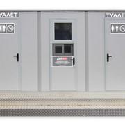 Туалетный модуль-павильон Городовой Максима 306С/316С фото