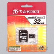 Карта памяти transcend 32 gb sd adapter