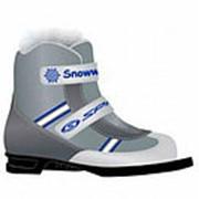 104 Лыжные ботинки Kids Velcro 75NN (Spine) (30-31) фото