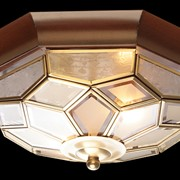 Потолочный светильник 21195-02 темное дерево фото