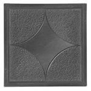 Пластиковая форма для брусчатки 34 звёздочка 34 , 30 см х 30 см фото