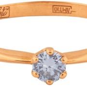 Кольцо с бриллиантом коз о 40113 фото