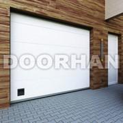 Гаражные секционные ворота Eco Fast DoorHan фото