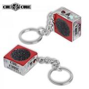 Брелок-зачистка для наклеек Cue Cube красная фото
