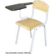 Изготовление мебели под заказ, Стул ученический с пюпитром ШК 02-106 фото