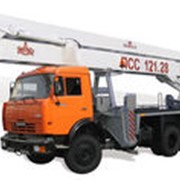 Автогидроподъемник ПСС-121.28 (АГП-28) на шасси КАМАЗ-65115 (6х4) фото