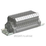 Блок зажимов наборных мостиковых БЗН27-2,5М25 фото