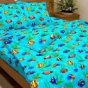 Ткань постельная Бязь 125 гр/м2 150 см Набивная цветной 3392-1/S263 TDT фото