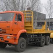 Автопоезд трубоплетевозный модель 44421-010А на базе шасси КамАЗ 6522 фото