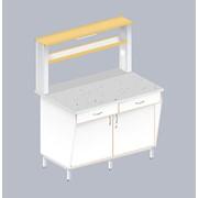 Столы пристенные ЛАБ-1200 ПФТ фото