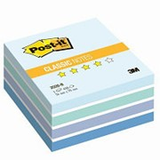 Блок-кубик Post-it куб 2028-B 76х76 голубая пастель 450л. фото