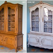 Реставрация деревянных изделий фото