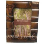 Фоторамка из бамбука в асс. в инд. упак. (10*15) (уп.80) , арт. 8616 66101-S(ver.4)
