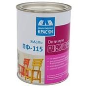 "Эмаль ""ПФ-115 ОПТИМУМ"" ярко-желтая глянцевая (ТЕКС), 0,9кг фото"