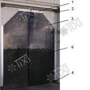 Дверь эластичная двустворчатая МДДП-1200.2800/7 фото