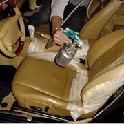 Химчистка кожаного салона автомобиля фото