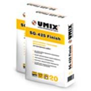 Финишная гипсовая шпатлевка UMIX SG-425 Finish фото