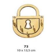 Настенная ключница «замок» фото