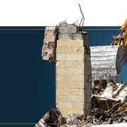 Демонтаж зданий и конструкций, Любые объемы, Спецтехника фото
