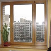 Деревянные окна на заказ фото