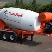 Полуприцеп-бетоносмеситель GuteWolf 16м3 фото