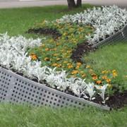 Декоративные ограждения для цветников фото