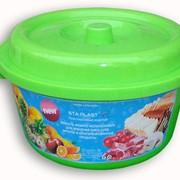 Пластиковая емкость для хранения продуктов фото