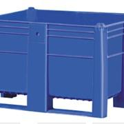 Пластиковый контейнер сплошной на полозьях Модель 1000 фото