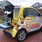 Мобильний кофе бизнес фото