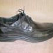 Туфли мужские флоттер черный фото