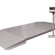 Платформенные весы фото