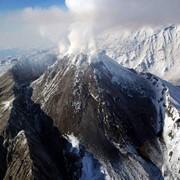 Облет действующих вулканов Камчатки фото