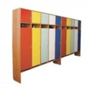 Шкафчики для детских садов фото