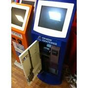 Установка платежных терминалов,установка приём платежей фото
