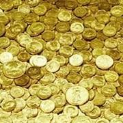 Золотые монеты фото