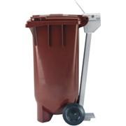 2-х колесные контейнеры для мусора фото