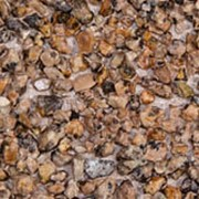 Плита фасадная плита 1200*1500 с нанесенной каменной крошкой из гранита Капустинского фракция 1,6-3 мм фото