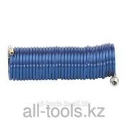 Шланг спиральный Rilsan -8 мм 8 бар- 5 м с БЗМ и нипп. Код: 901054940 фото