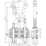 Насос ручной гидравлический типа НММ 14.16 фото