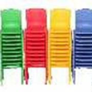 Детский пластиковый стульчик (530х360х280 см) фото